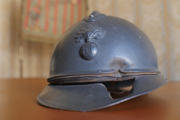 Le casque du Colonel Picot